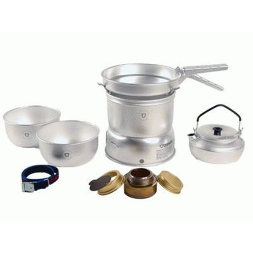 Trangia 27-2 Sml Ultralite Alloy Storm Cook Set + Kettle