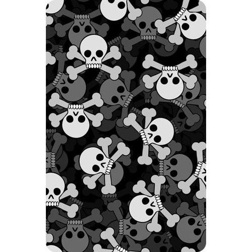 Personalised Luggage Tag - Skulls