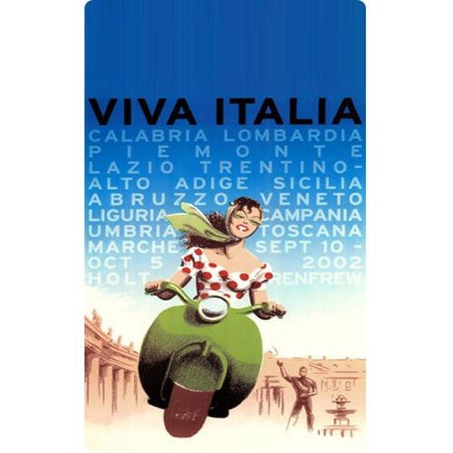 Personalised Luggage Tag - Viva Italia