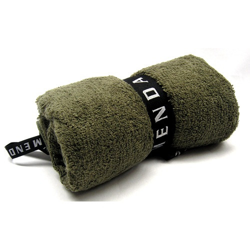 Menda Ultimate Travel and Sports Towel: Mega Size Khaki Green