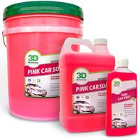 3D Pink Car Soap