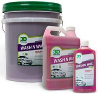 3D Wash N Wax