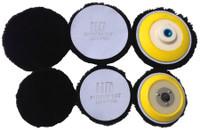 HD Wool Cutting Pad Black
