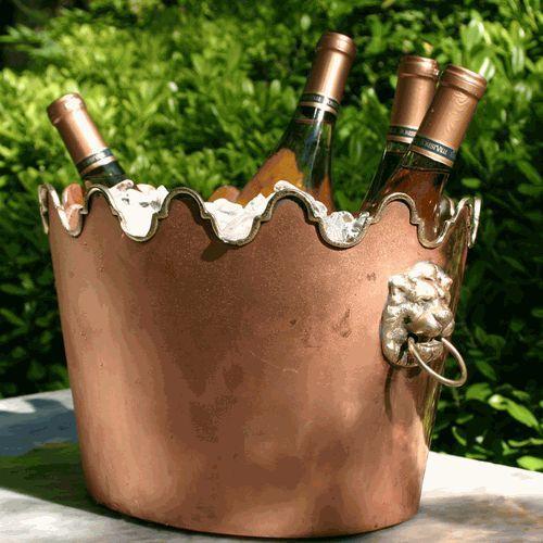 Copper wine champagne bucket