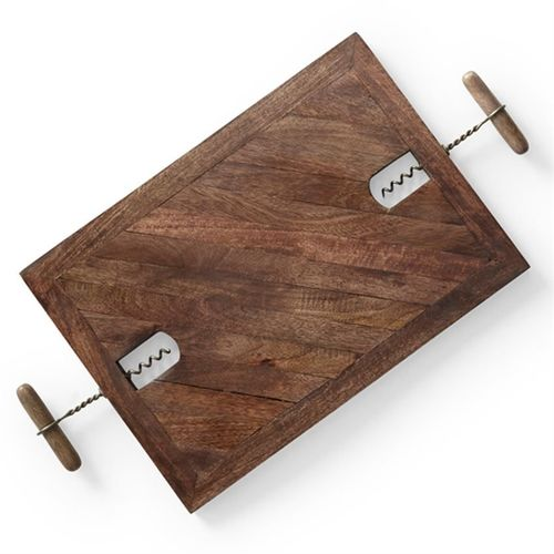 Corkscrew Serving Tray