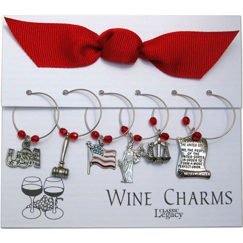 Law Wine Glass Charms