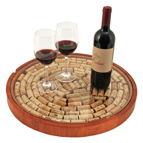 Lazy Susan Cork Display Kit