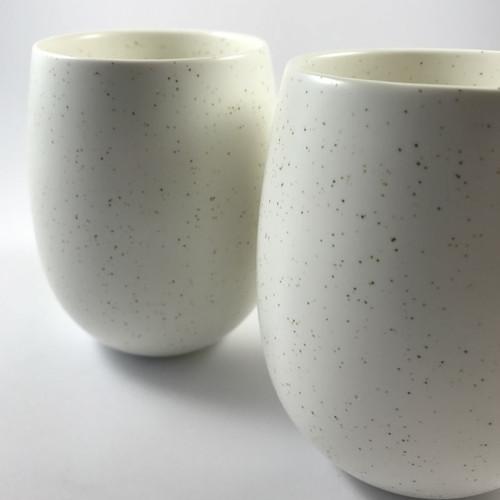 Robert Gordon - Coffee Run Chai Latte Mugs (set of 4) - Oatmeal Speckle