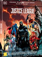 Liga da Justiça - Steelbook - Blu-Ray 3D + Blu-Ray