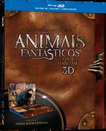 Animais Fantásticos e Onde Habitam - Blu-Ray 3D + Blu-Ray + Cópia Digital