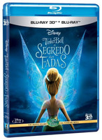 Tinker Bell - o Segredo Das Fadas - Blu-Ray 3D + Blu-Ray