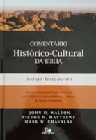 Comentário Histórico-Cultural Da Bíblia - Antigo Testamento