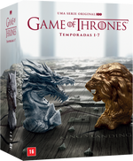 Game Of Thrones - Temporadas Completas 1-7 - 35 Discos