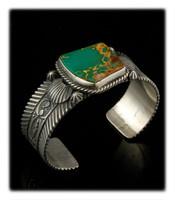 Stunning Ultra Grade Manassa Turquoise Bracelet