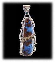 Extra Large Boulder Opal Pendant