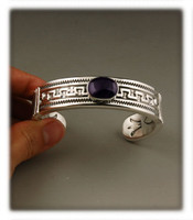 Heavy Weight Sugilite Bracelet