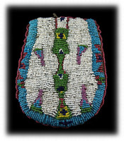Ute Beaded Bag