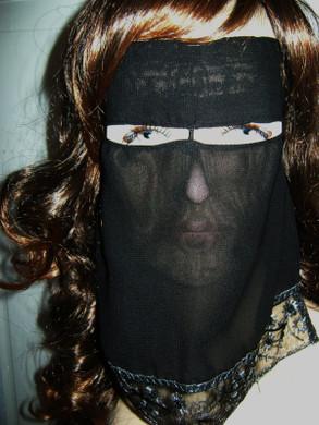 Lace Frill Niqab