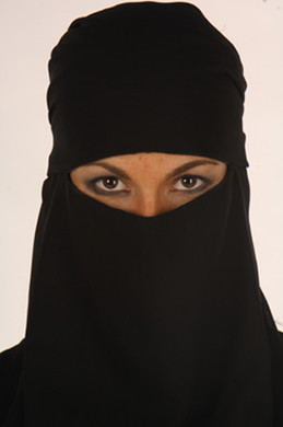 Niqab Face Vail