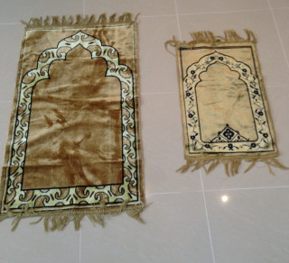 Adult & Kid Prayer Mat Deal Set