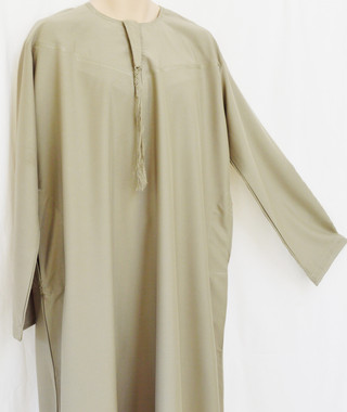 10 Gray Saudi Arabic  thobes