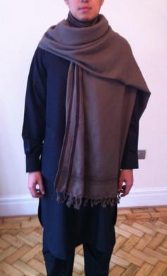 Afghan Mens Black 2 Piece Suit Salwar Kameez