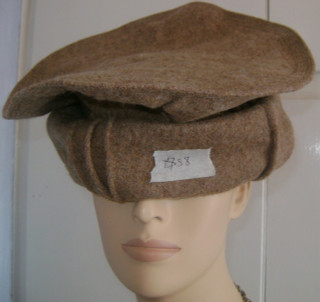 Pakol Afghan Hat in several options...