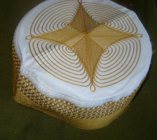 Golden Afghan Hat