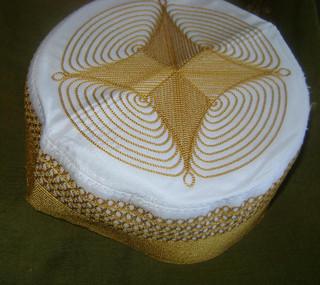 Golden Afghan Hat