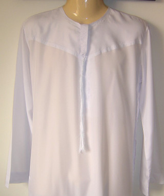 White UAE Thobes