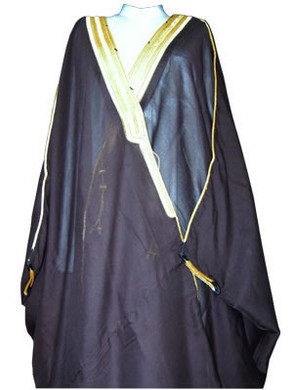 Bisht traditional Arabic men's cloak --- Available in 3 Colours