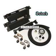 Premium Setrab Oil Cooler Component Kit by Fab9Tuning