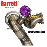 Fab9Tuning Side Mount Stainless GarrettV-Band Turbo Manifold