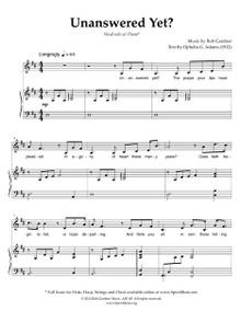 Unanswered Yet - w/ Violin Solo