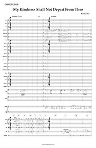 My Kindness Shall Not Depart From Thee - Full Orchestral Score and Parts
