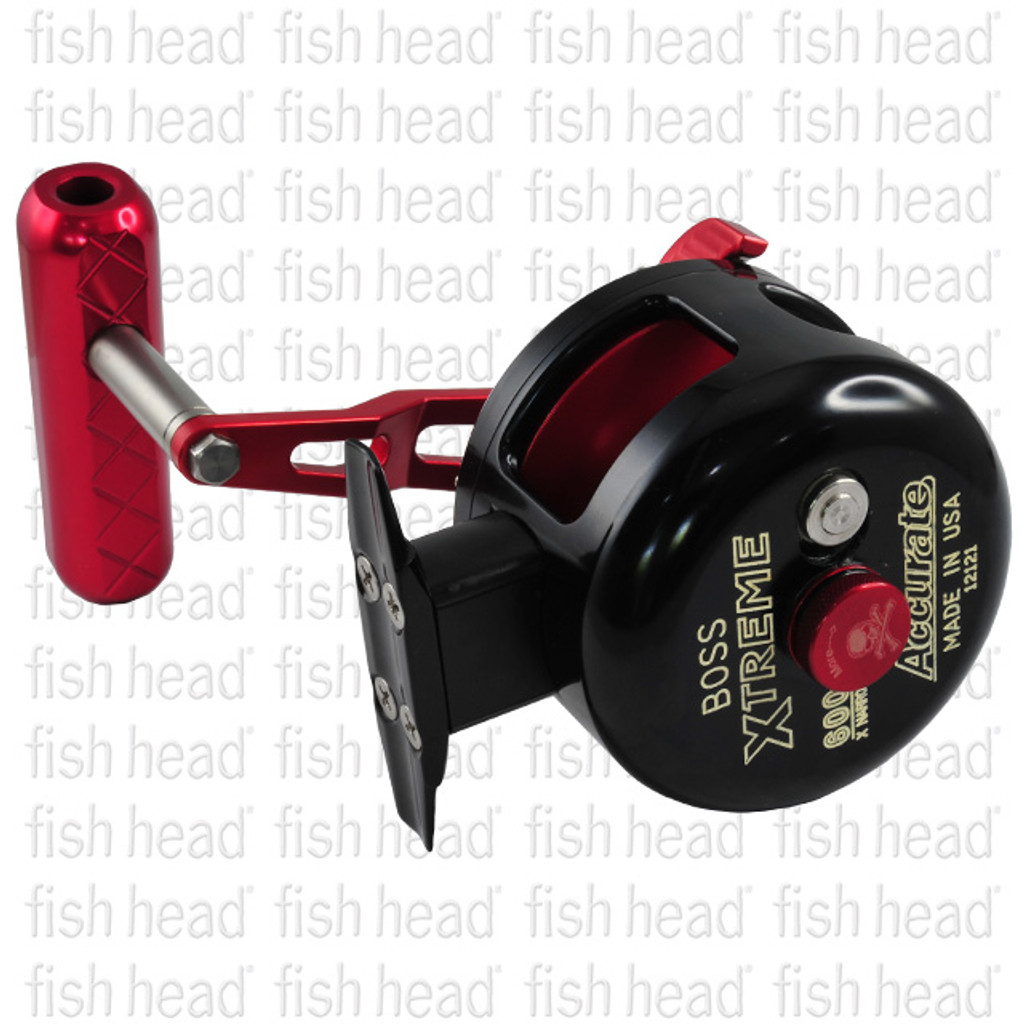 Accurate Mutant GT 600XNN- Left Hand- Blk/Red
