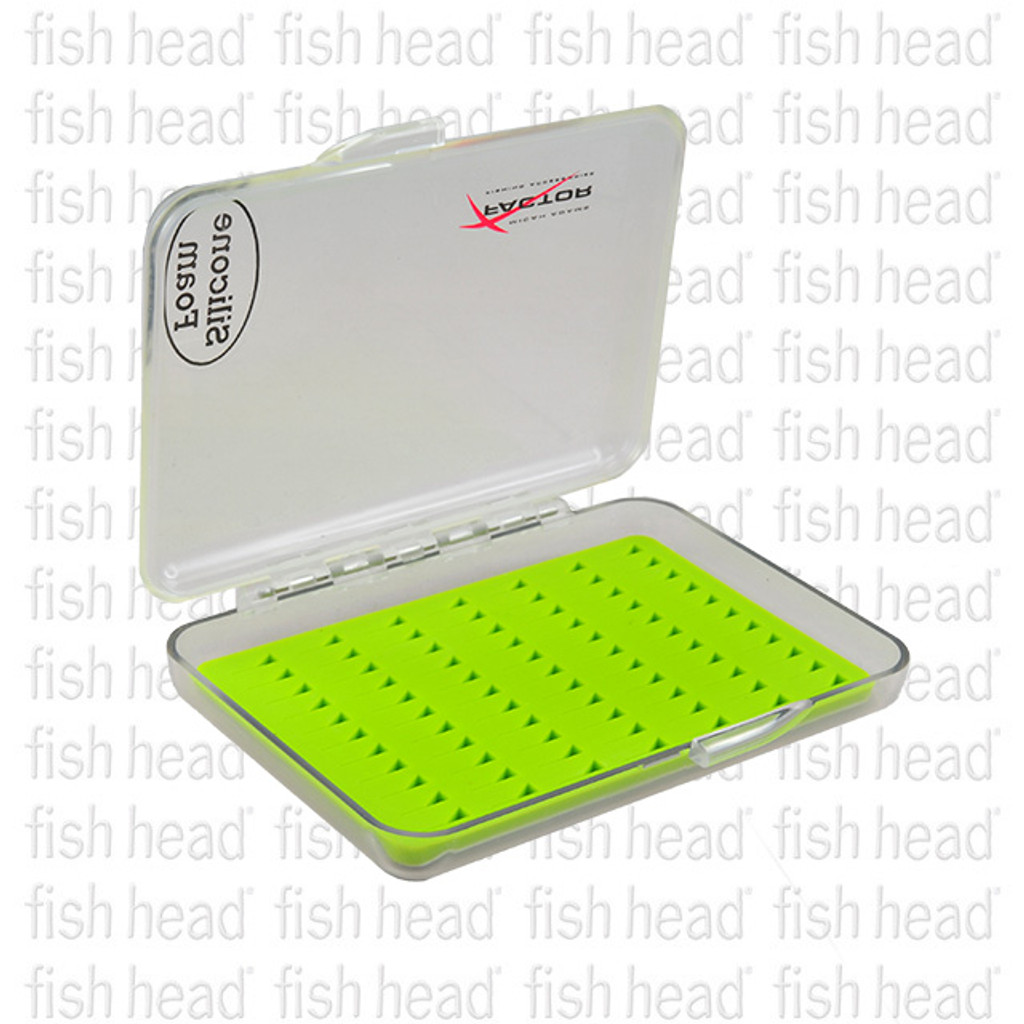 X Factor Small Tri Slit Silicon Fly Box