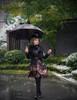 Model Show (black version) dress DR00206 hat P00549N