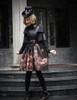 Model Show (black version) dress DR00206 hat P00549N jacket CT00277