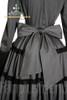 grey cotton+ black laces