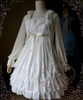 Front View under natural light (White Ver.) (dress: DR00113)
