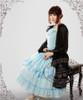 Model Show (Black Ver.) (dress: DR00130, hairdress: P00582, choker: AD00587, ring & wristlet set: AD00597, fan: P00580)