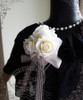Chiffon Lover, Classic Lolita Lace & Rose Circle Hairdress/Brooch*5colors