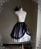Front View (Dotted Gauze Ver. with ribbon tied up) (skirt underneath: V00002N)