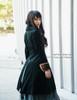 Pirate Lolita Dandy False 2pcs Thick Velvet Jacket Long Coat*2colors Lady Version Instant Shipping