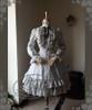 Front View (Light Grey Ver.) (birdcage petticoat underneath: UN00019)