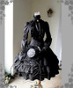 Co-ordinates Show (Black Ver.) (hat: P00574, gloves: P00581, birdcage petticoat underneath: UN00019)
