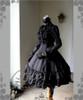 Side View (Black Ver.) (gloves: P00581, birdcage petticoat underneath: UN00019)