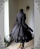 Back View (Black Ver.) (gloves: P00581, birdcage petticoat underneath: UN00019)