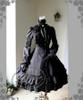 Front View (Black Ver.) (gloves: P00581, birdcage petticoat underneath: UN00019)